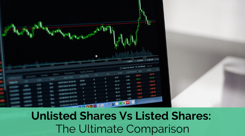 unlisted shares vs listed shares
